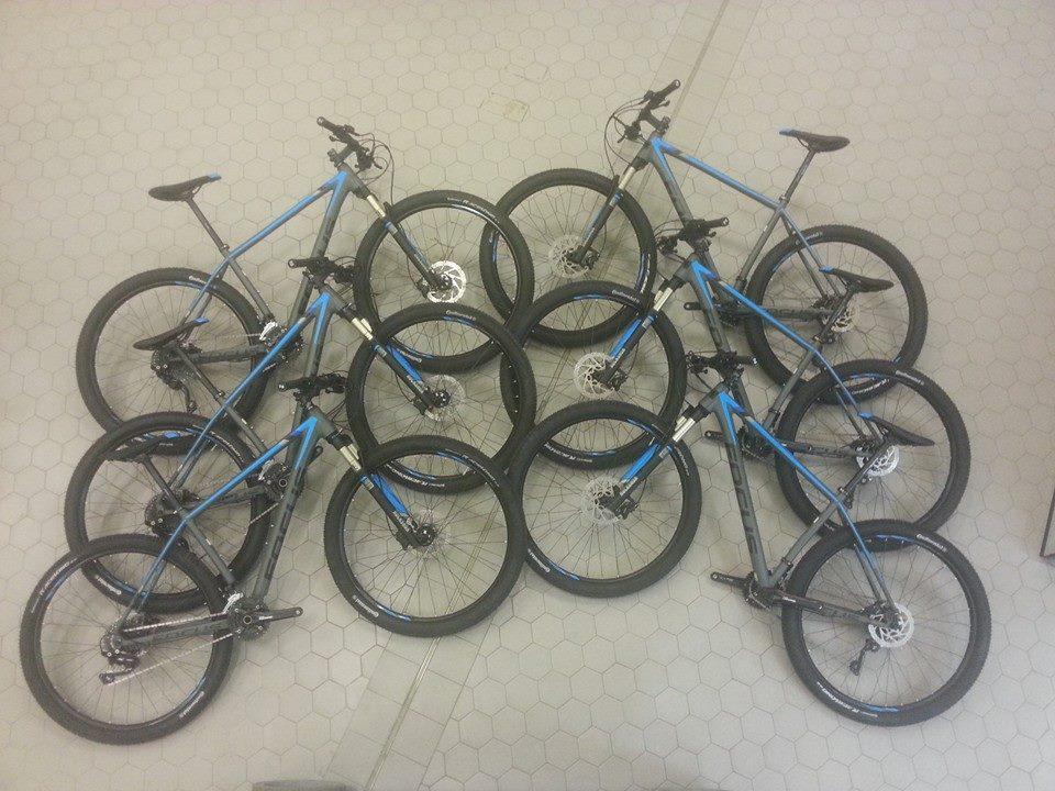 De fietsen